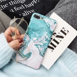 iPhone X/XS/7/8/Plus Marble Case